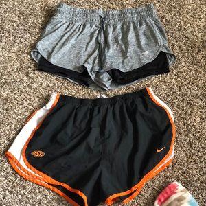Nike and Avia Shorts